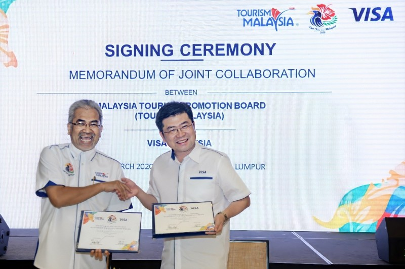 Tourism Malaysia And VISA Enter Into Strategic Partnership